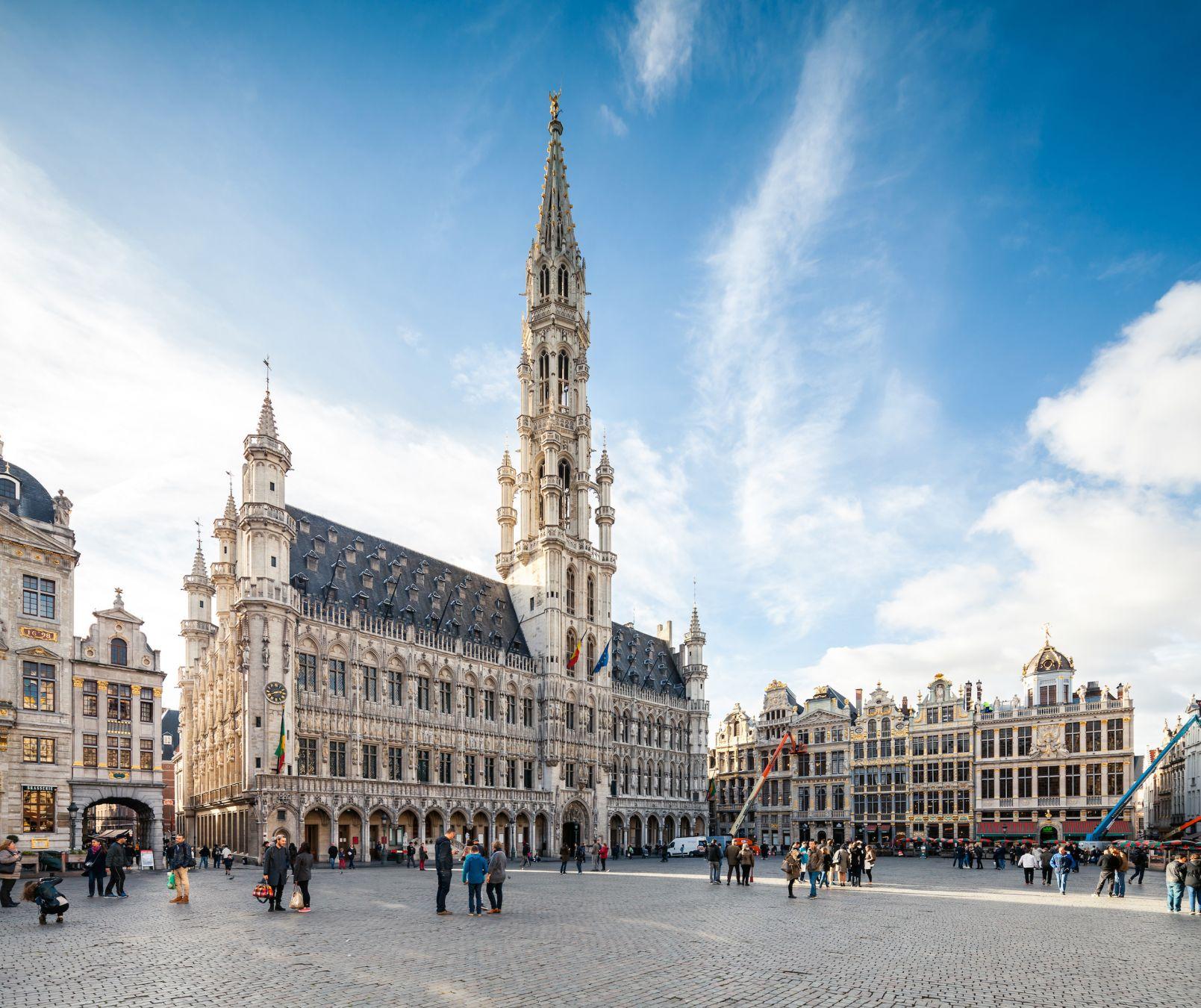 Italian booksellers in Brussels