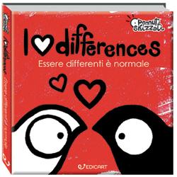 Pennuti skizzati: I Love Differences