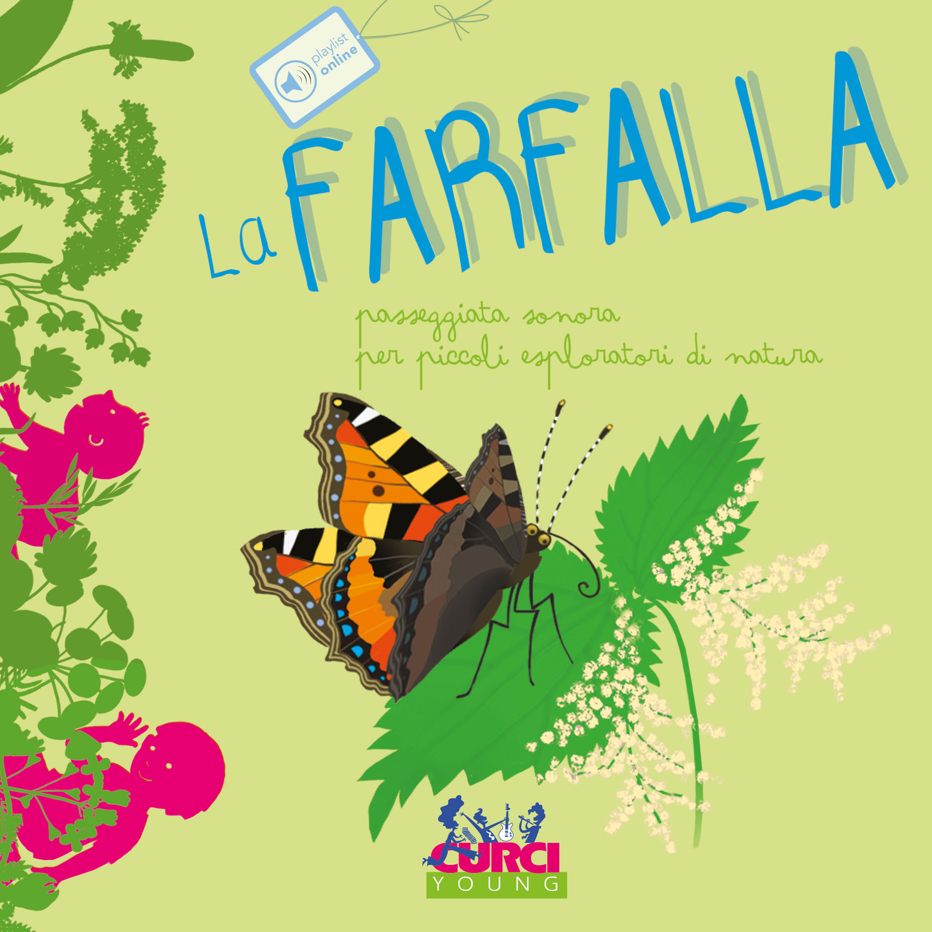 Piedi e orecchio – LA FARFALLA | Feet and Ears – THE BUTTERFLY