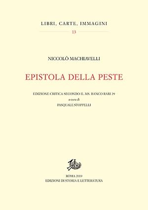 14 Epistola della peste. Edizione critica secondo il ms. Banco rari 29