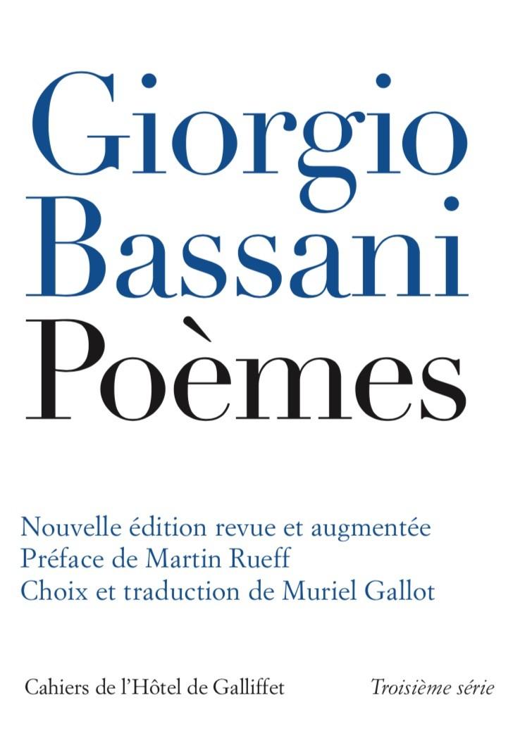 From Paris: Giorgio Bassani's poetry
